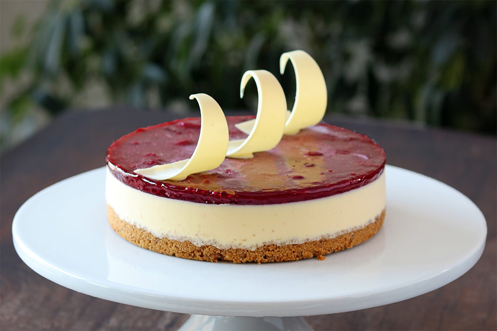 New Raspberry Cheese Cake