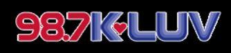 98.7 KLUV Logo