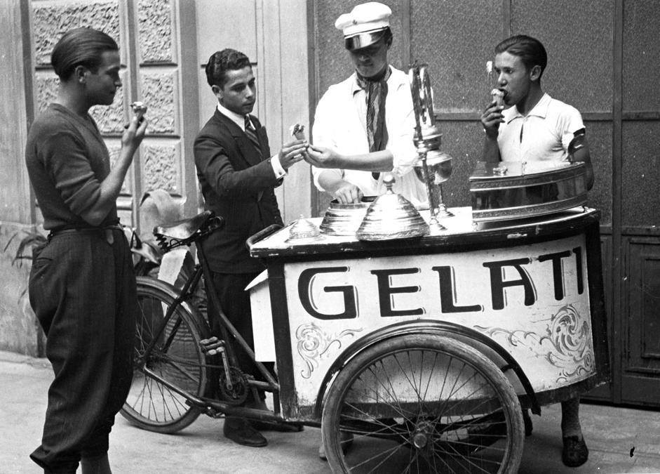 Street vendors brought gelato to the masses