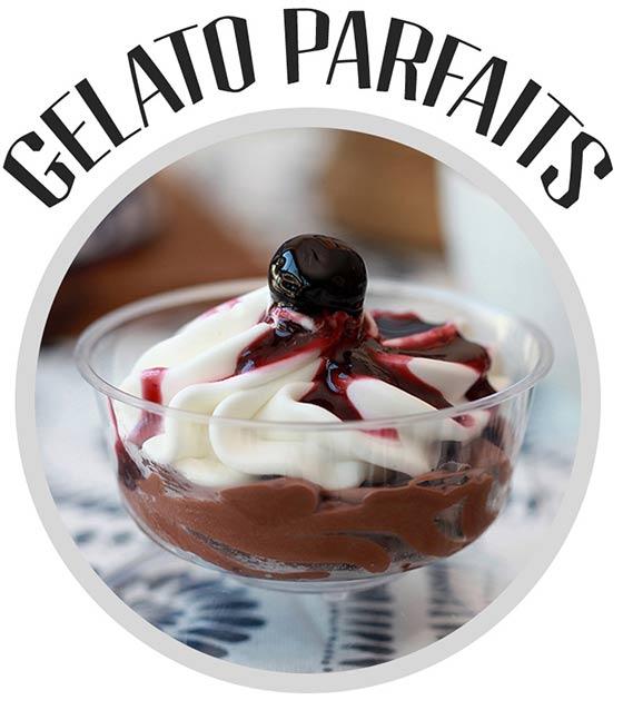 Gelato Parfaits are perfect Frozen Desserts