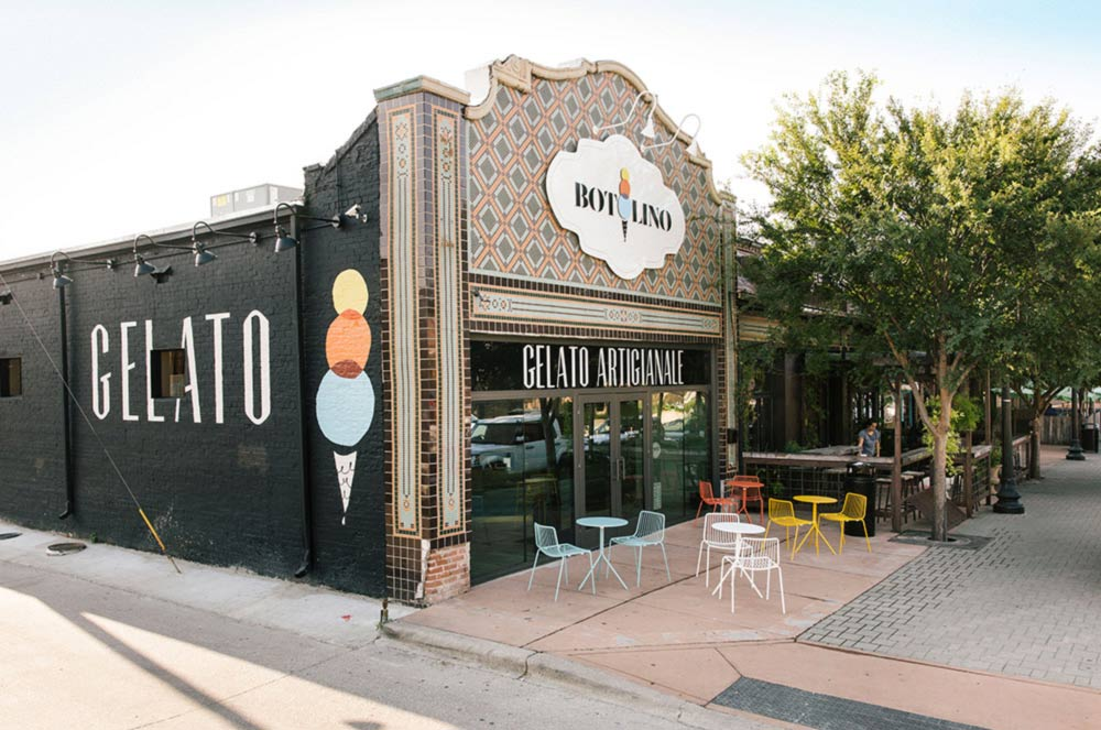 Botolino Storefront Located at 2116 Greenville Ave in Dallas
